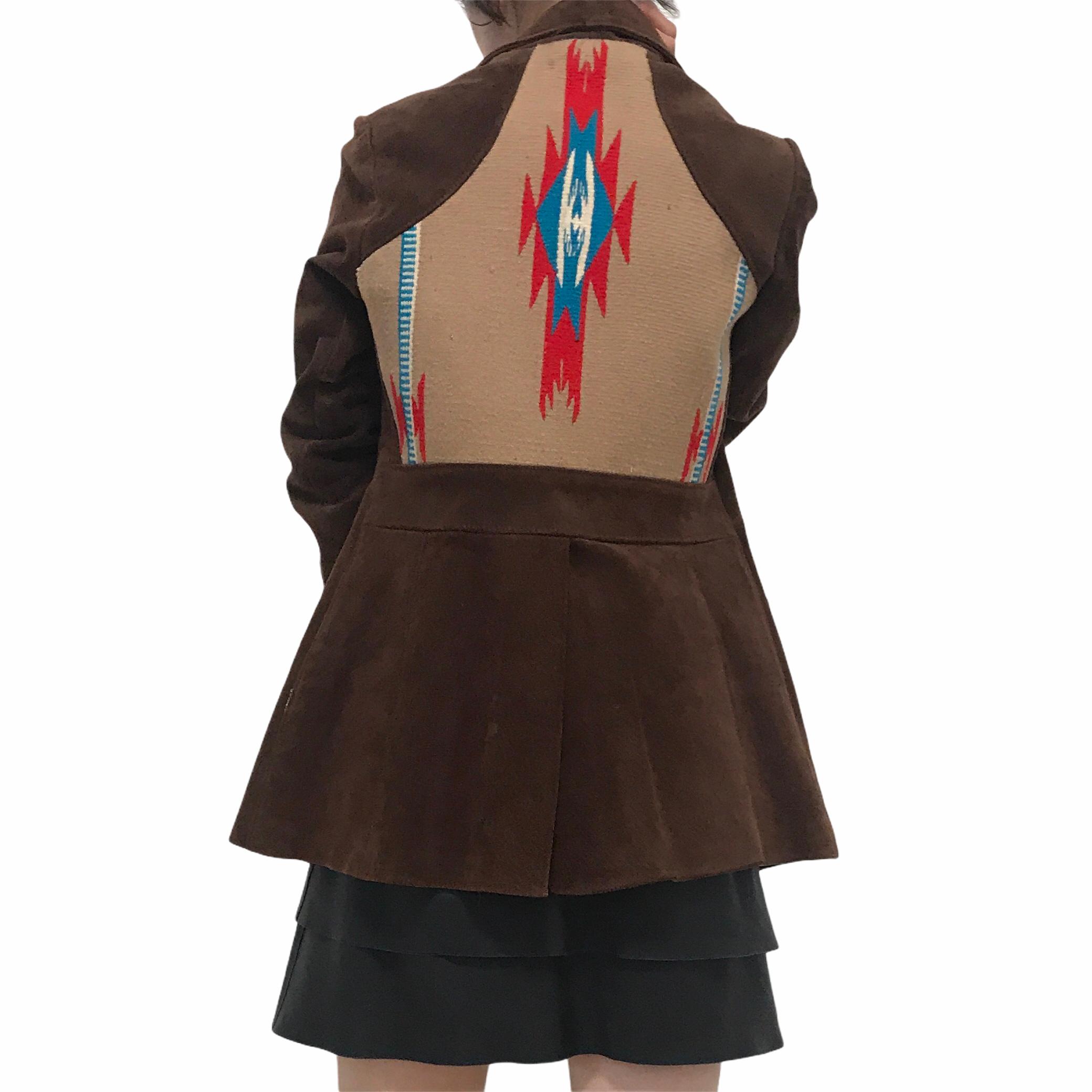 70's Pioneer Wear Brown Leather Jacket