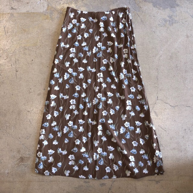 Liz Claiborne Floral Long Skirt