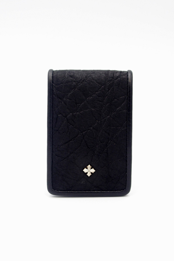 Item No.0295: Small rich coin case2/ Elephant《Black》