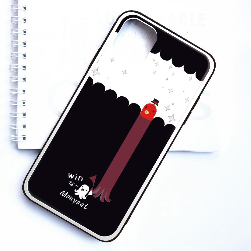 強化ガラスケース*スマートフォンケース*たこさんwinなー雑踏B*8KG1910