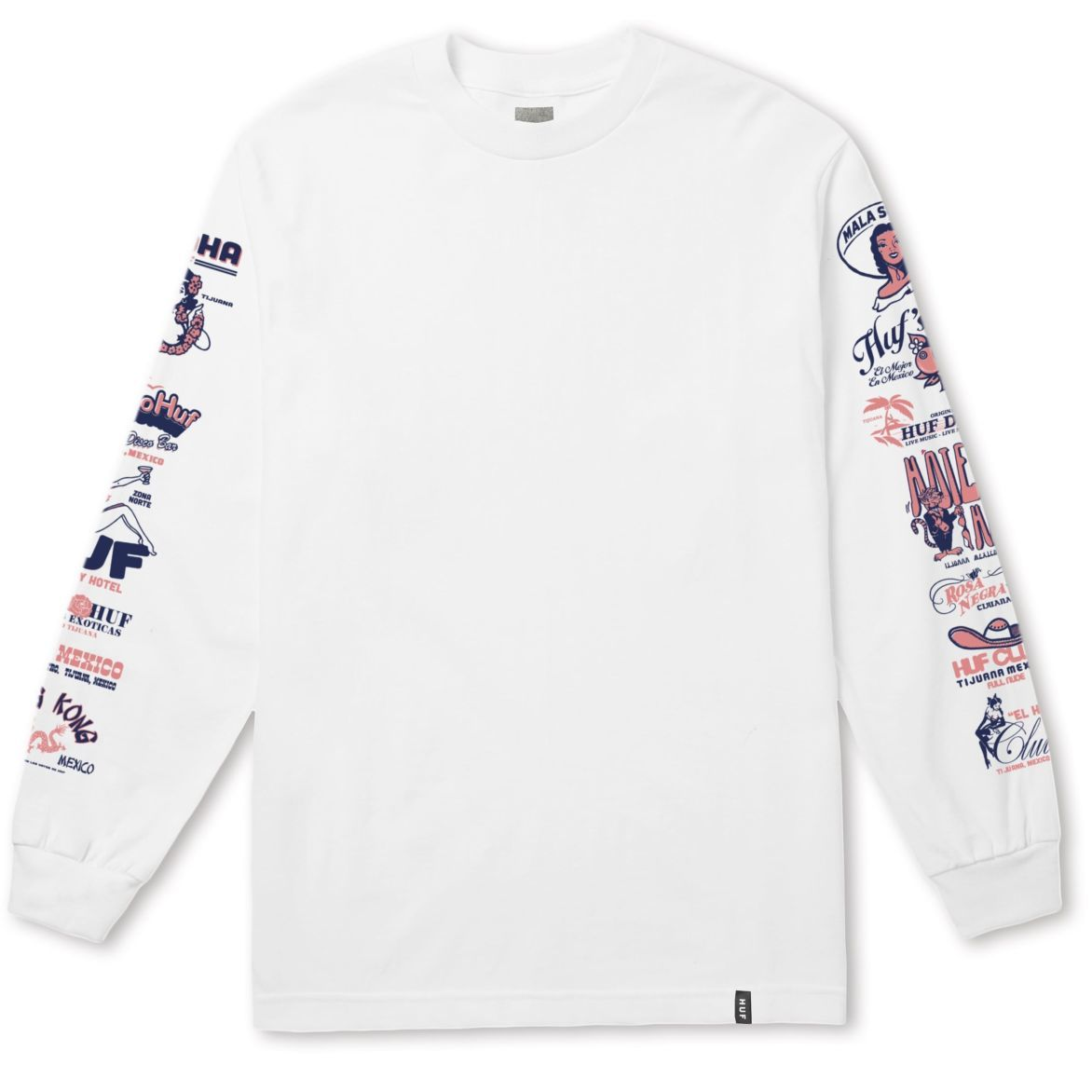 COLLAGE LONG SLEEVE TEE