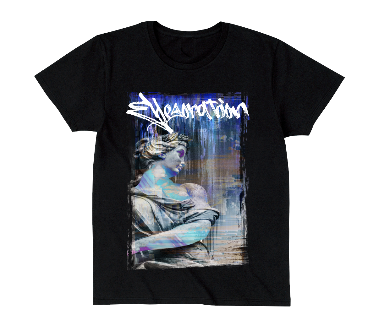 EYESORATION TEE ~A003~  BLACK