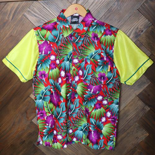 リメイクアロハシャツ 半袖 / ブラジル   SINE METU
