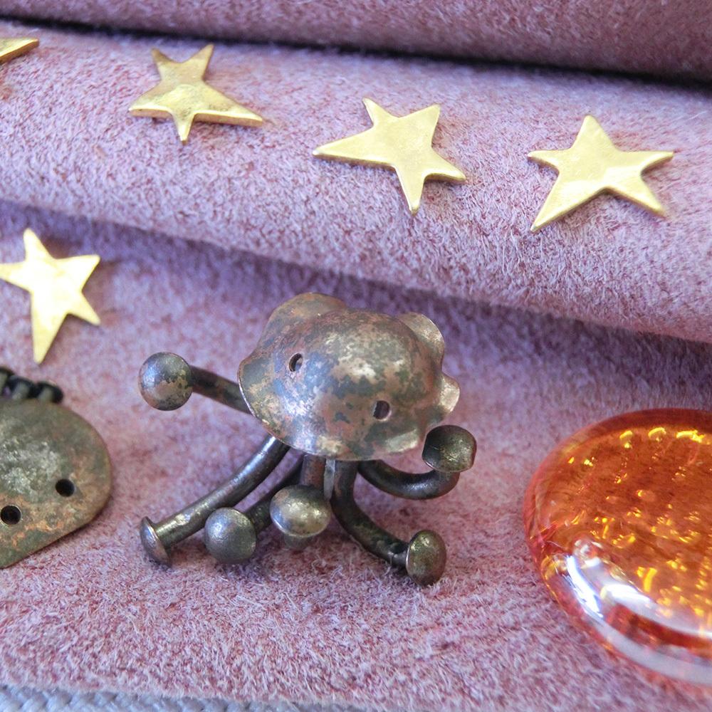 【火星人】c       真鍮 オーナメント #1104