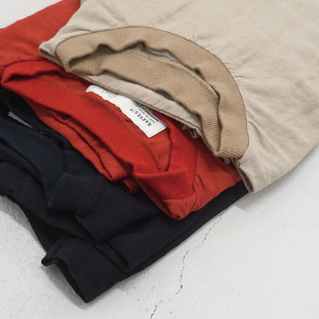 HARVESTY ハーベスティ SHORT SLEEVE PULLOVER 半袖プルオーバー 正規取扱店 (品番a32006)