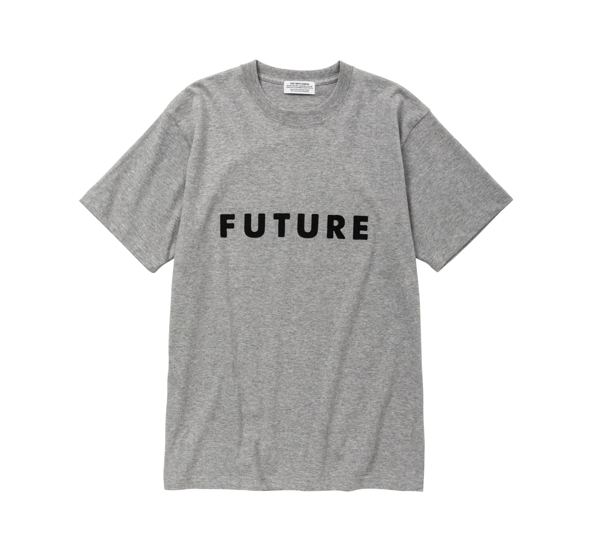 POET MEETS DUBWISE / LOGO TEE(FUTURE)