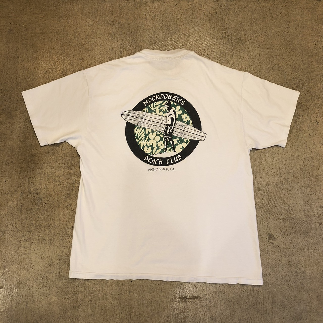 Beachclub Surf Tee ¥5,200+tax