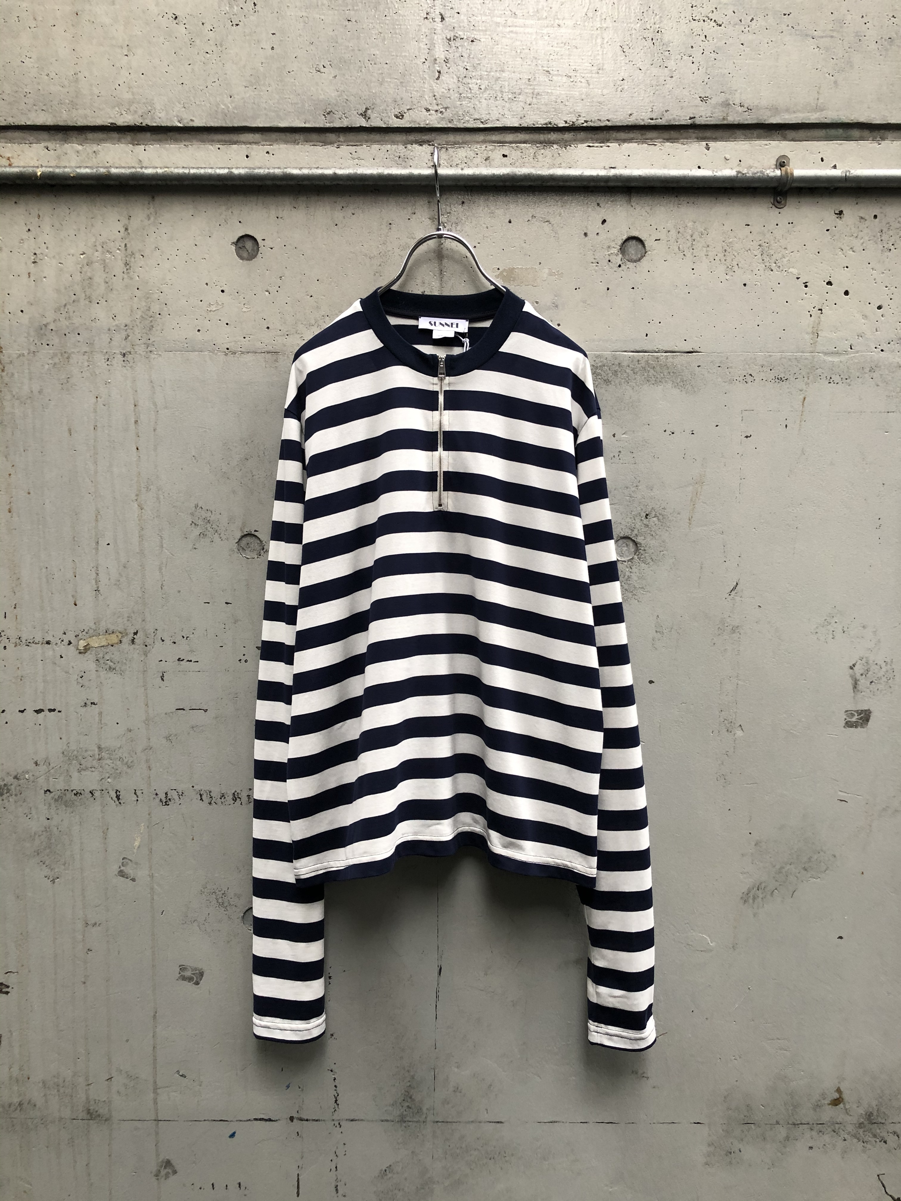 『SUNNEI』STRIPED LONG SLEEVE T-SHIRT