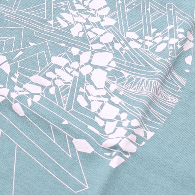 DUB SQUAD - MIRAGE Tシャツ(グリーン) - 画像3