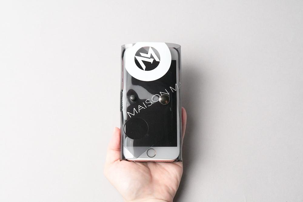 送料無料・ SE2/8/7/6S/6 iphone case □スモークグレー□ - 画像2