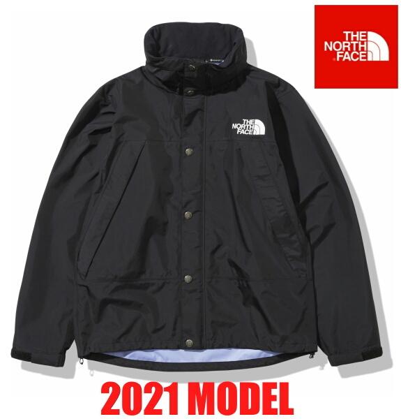ノースフェイス ジャケット ナイロンジャケット マウンテンレインテックスジャケット THE NORTH FACE Mountain Raintex Jacket NP12135 ブラック 2021年モデル