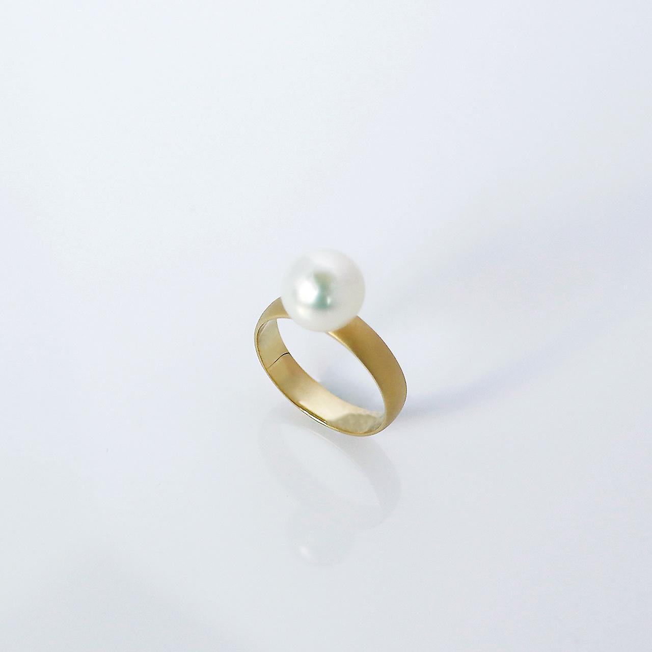 FREELY / Ring (Natural White , Honing)