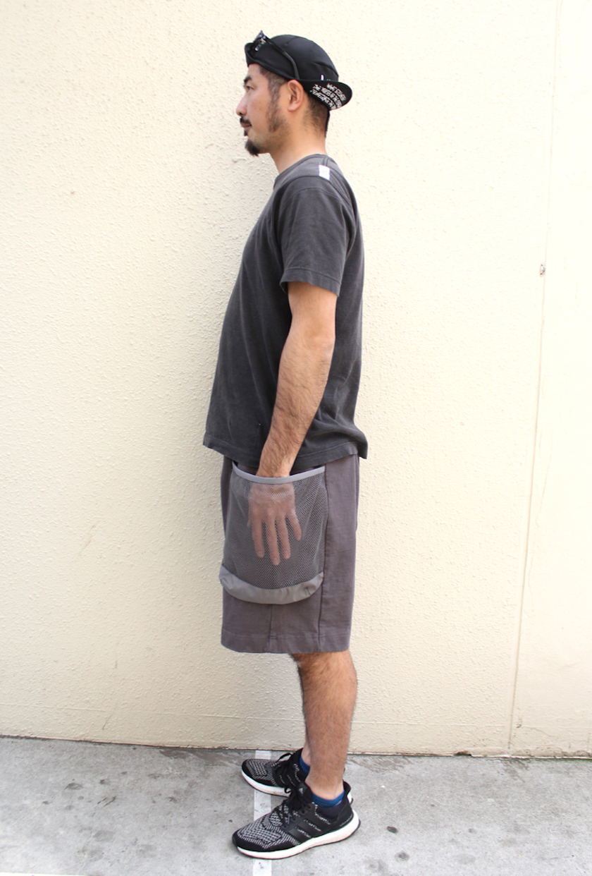 30%オフ TROVEx岡部文彦 / BIG POCKET SHORTS Ver:6 ( TYPE RELAX ) / CHARCOAL