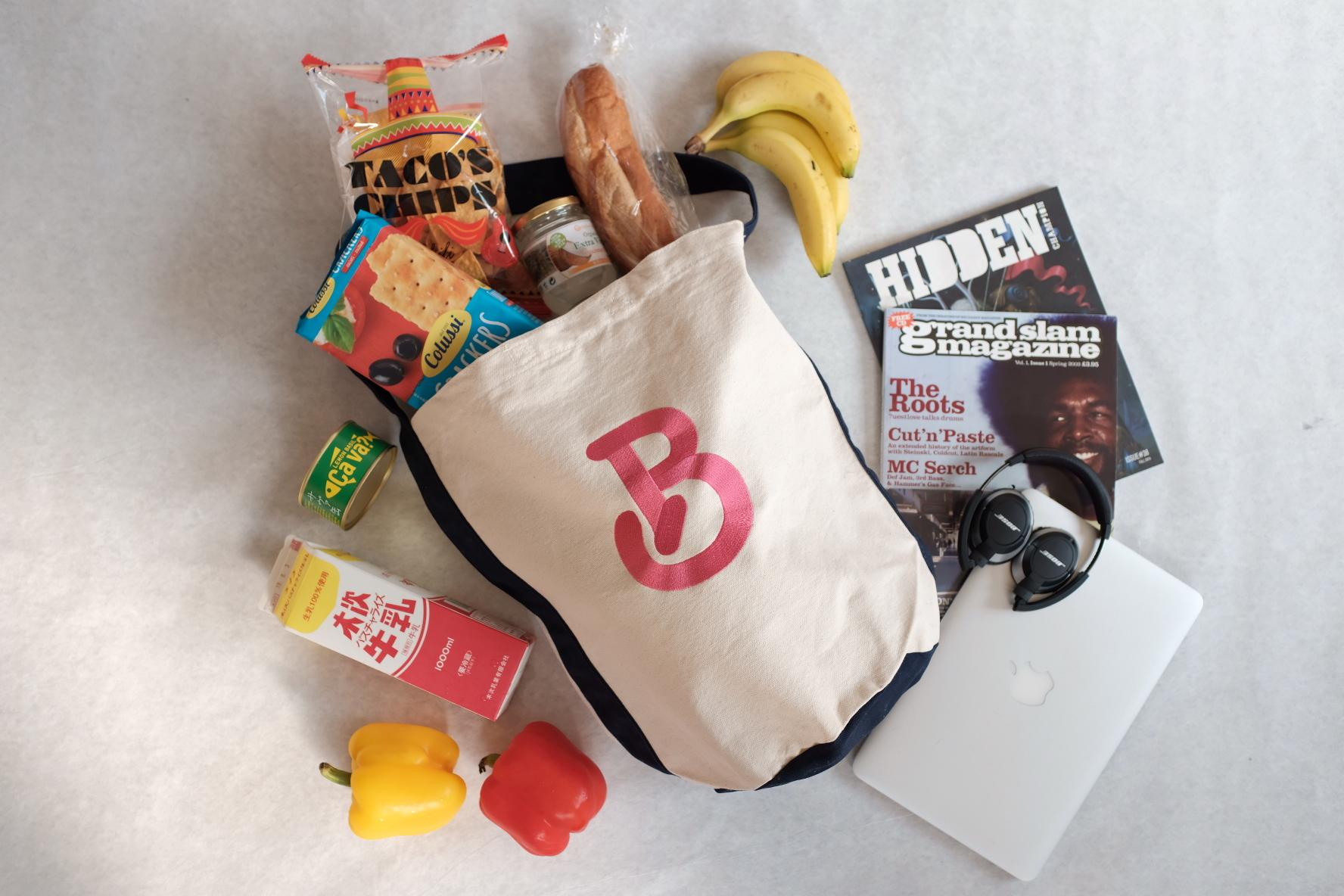 My tote bag[Navy strap]