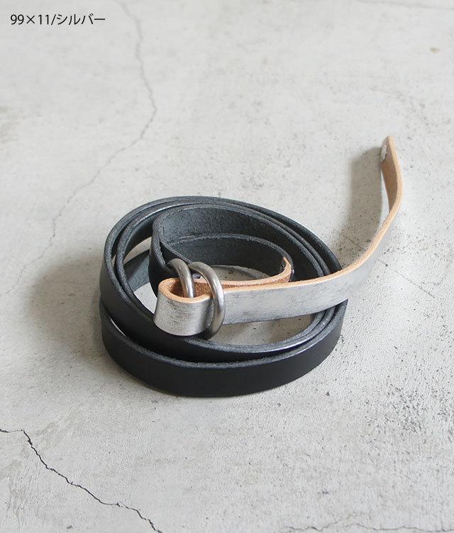 MASTER&Co. マスターアンドコー BUTTERO×ECOMURALES W RING BELT メンズ レディース ベルト FUDGE ファッジ 通販 (品番mc968)