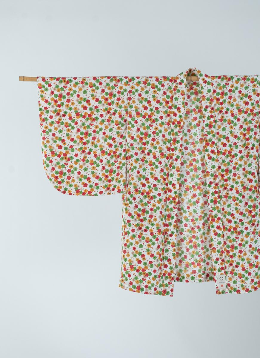 小花が彩る小紋 NEW KIMONO 羽織