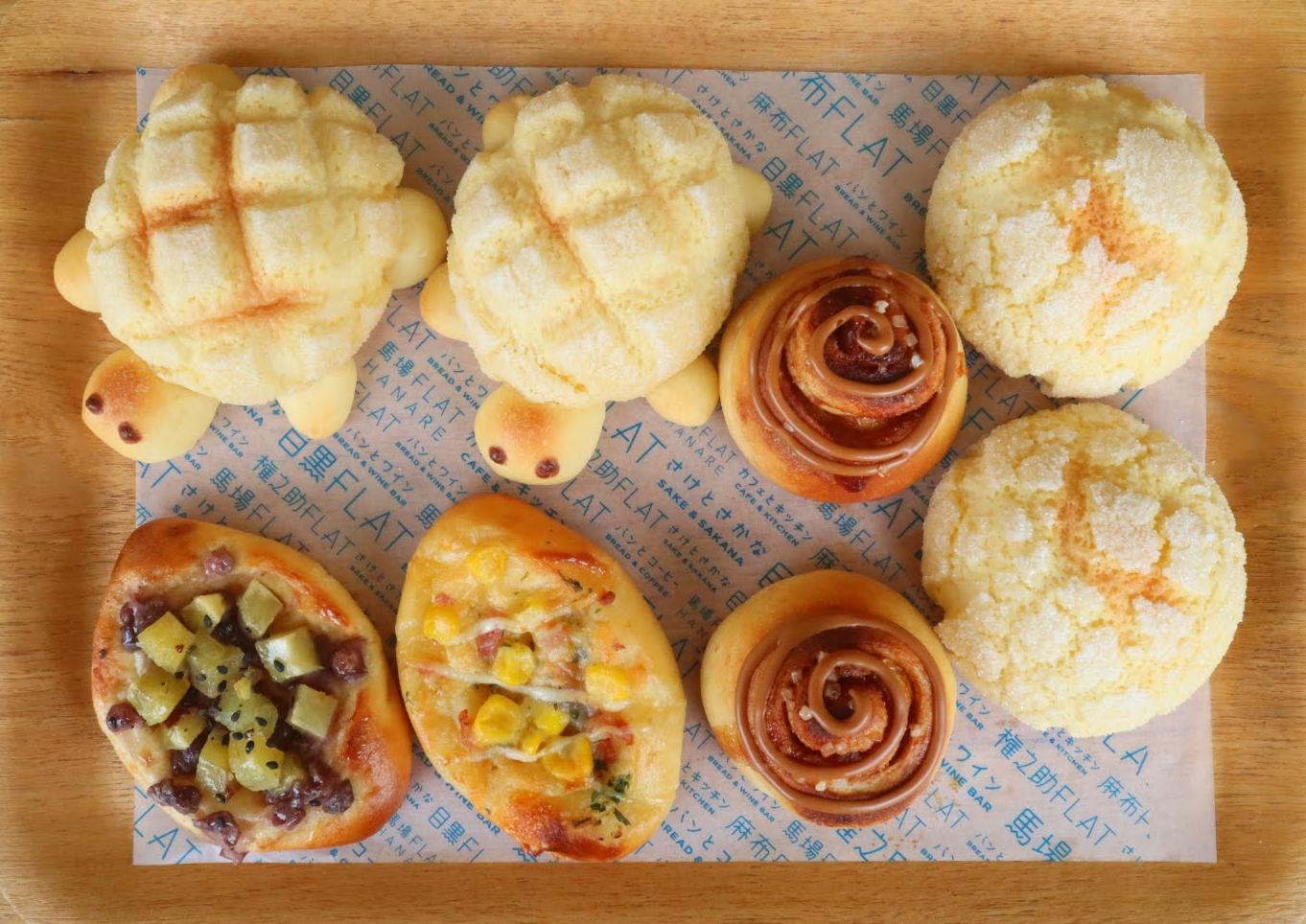 【手作りパンセット】「菓子パン&メロン皮」冷凍パン生地セット