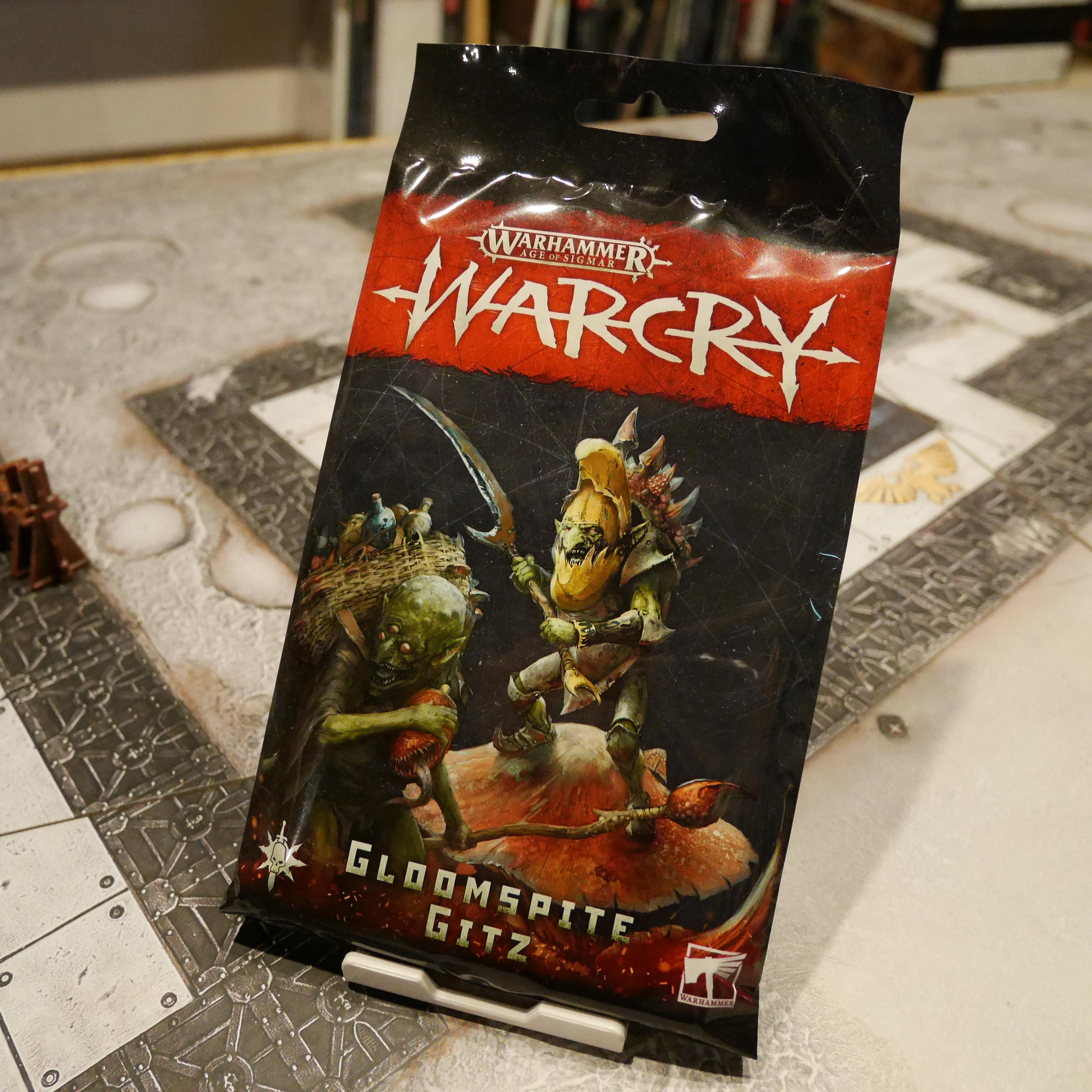 Warcry Gloomspite Gitz  Cards