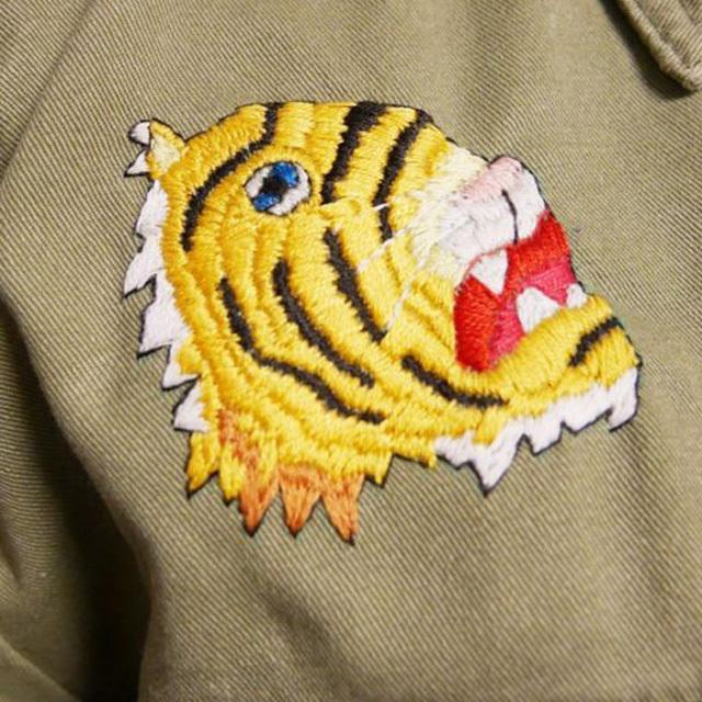 ≪オリジナル≫ミリタリー リメイク 手刺繍 ベトシャツ