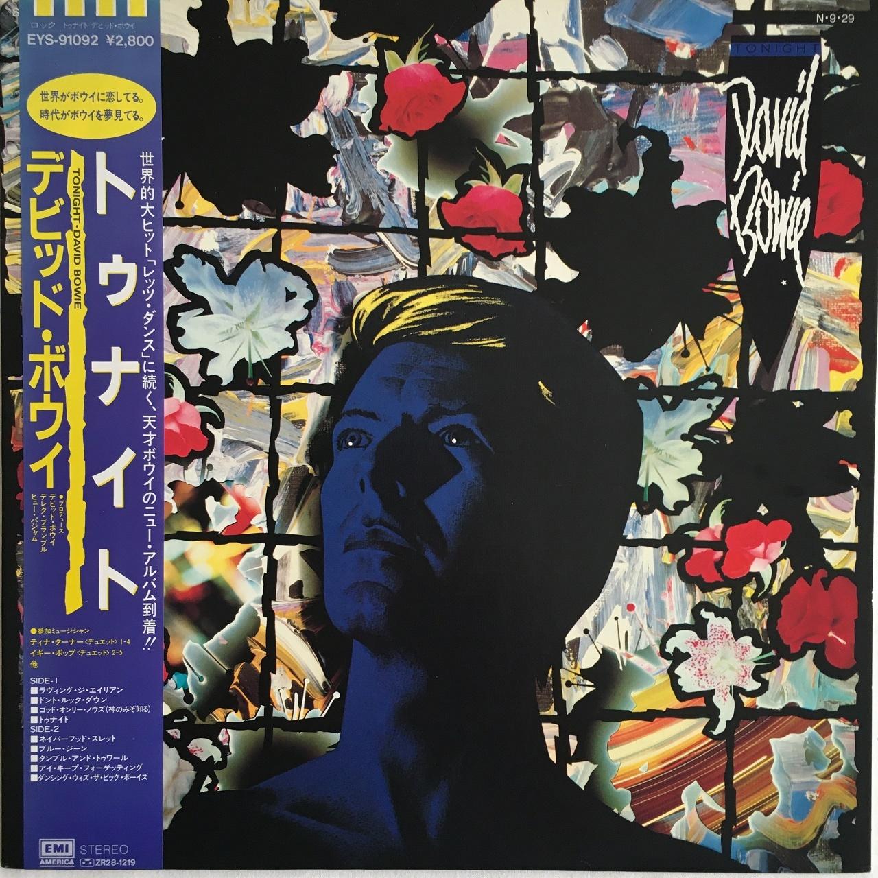 【LP・国内盤】デイヴィッド・ボウイ  /  トゥナイト