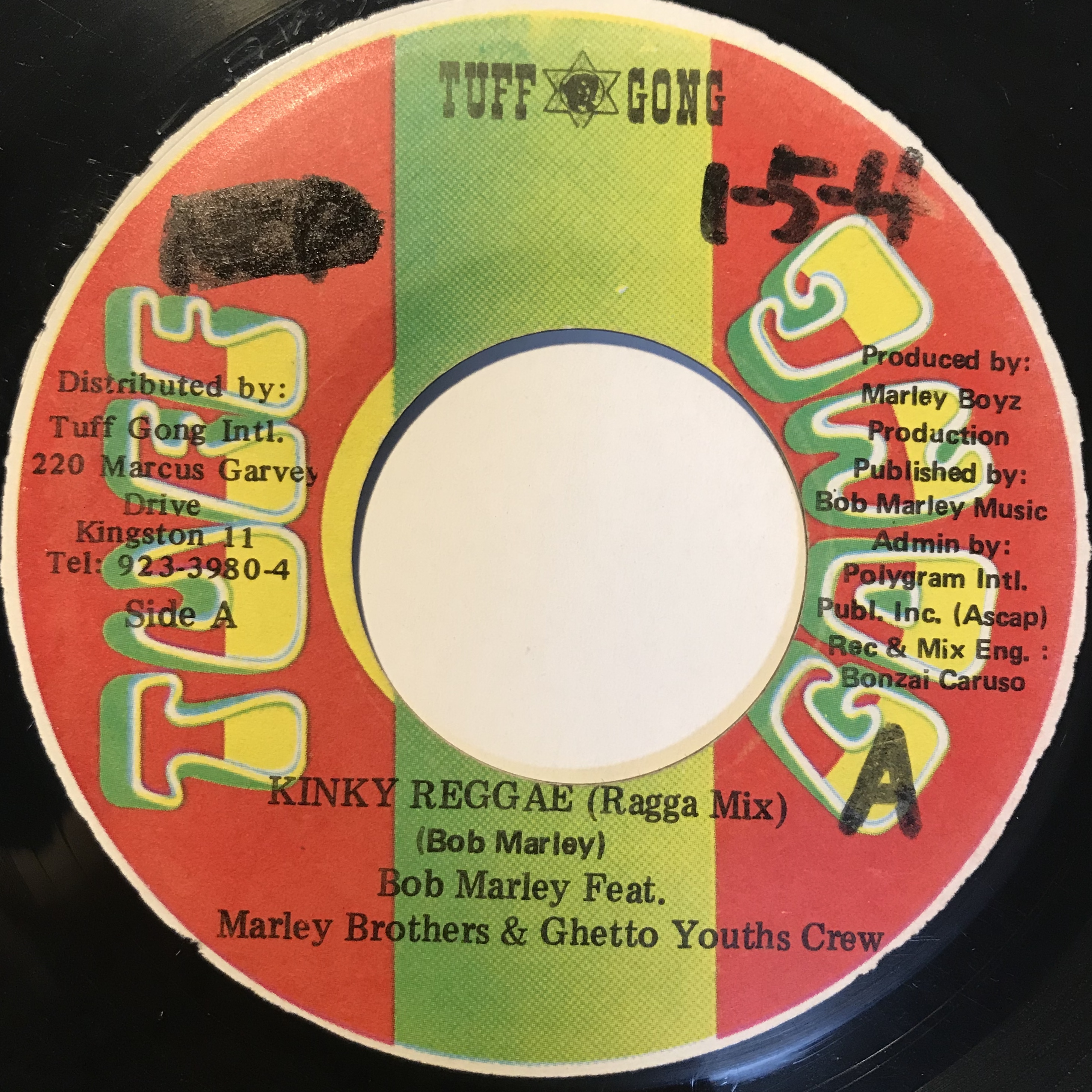 Bob Marley feat.Marley Brothers & Ghetto Youths Crew【7-10843】