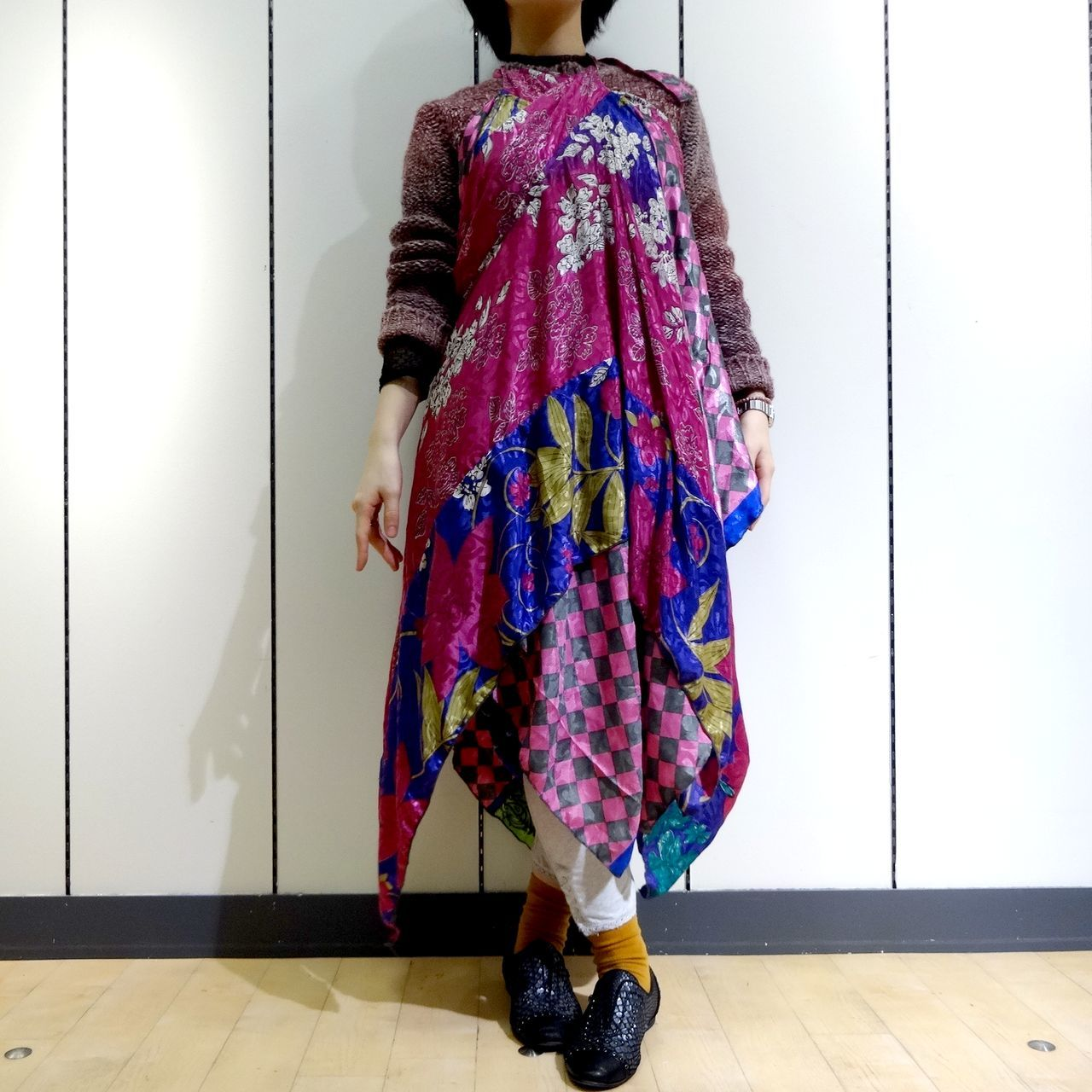 vdsz-001  ビンテージシルクサリーギザスカート「吉祥天女」