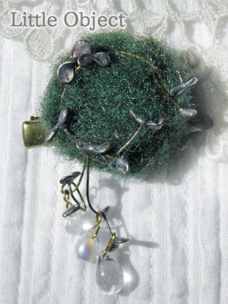 ブローチ - moss ブローチ - Little Object