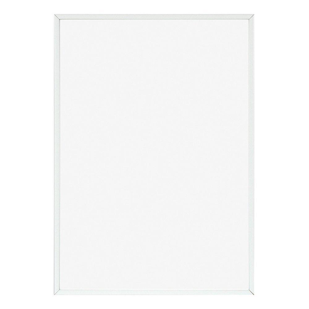 ポスターフレーム フィットフレーム 100x70 cm ホワイト