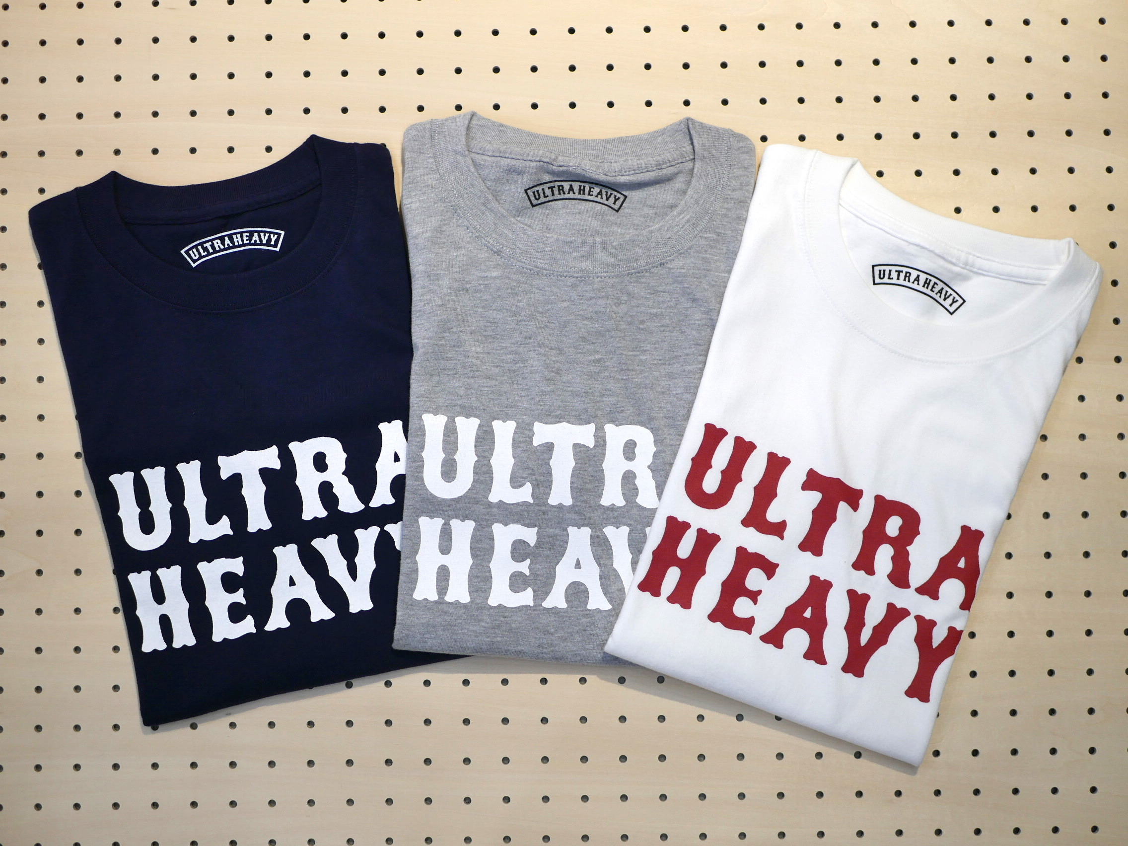 U.H. / HEAVY-WEIGHT TEE(LOGO)