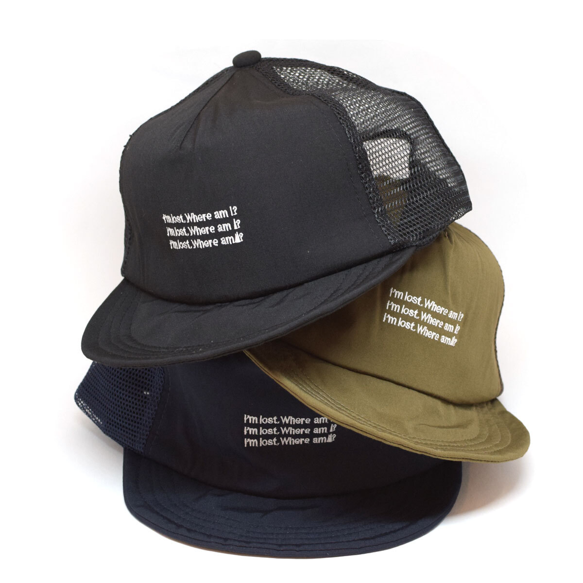 halo commodity  LOST TRACK CAP ハロコモディティー ロストトラックキャップ