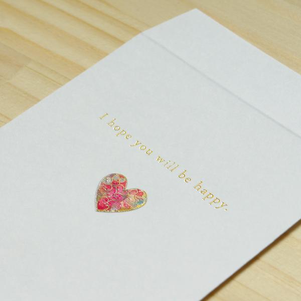 【ハート】ハッピーモチーフ金封 KHM04-2