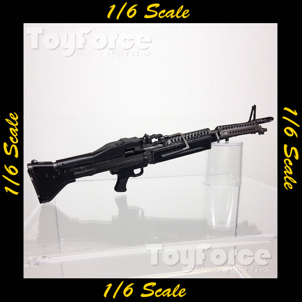 【02372】 1/6 DAMToys Universal Soldier サコー M60 機関銃
