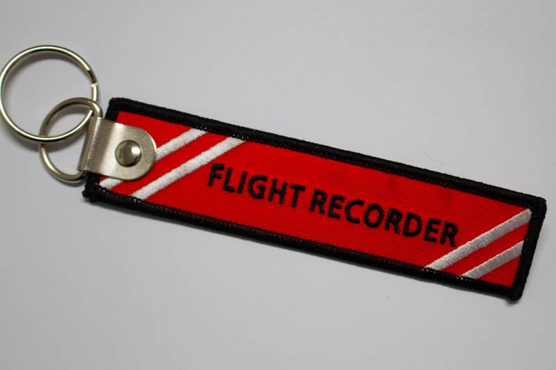 DoNotOpen フライトレコーダー(ブラックボックス)キーホルダー