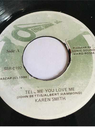 Karen Smith(カレンスミス) - Tell Me You Love Me【7'】