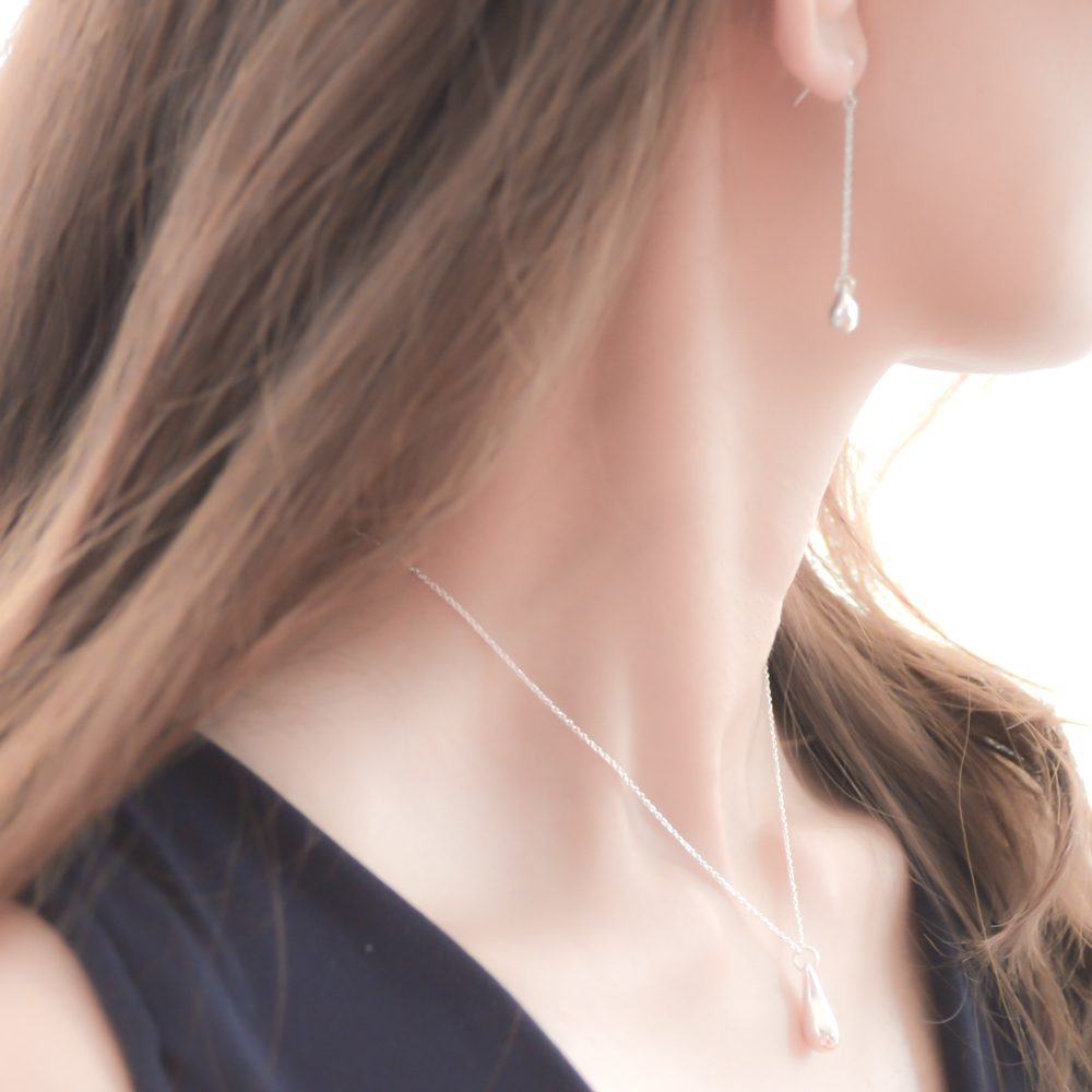 Silver925 Teardrop Necklace