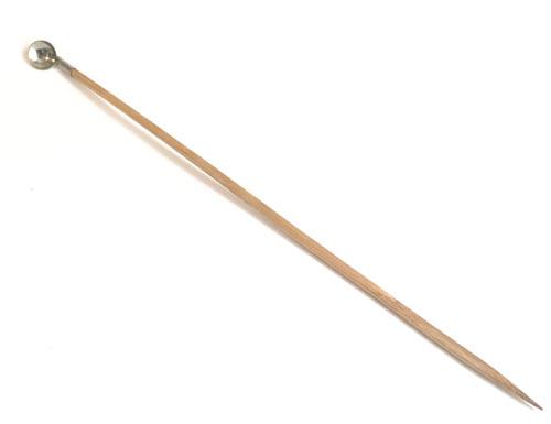 匙(餌やり用極小スプーン)煤竹製