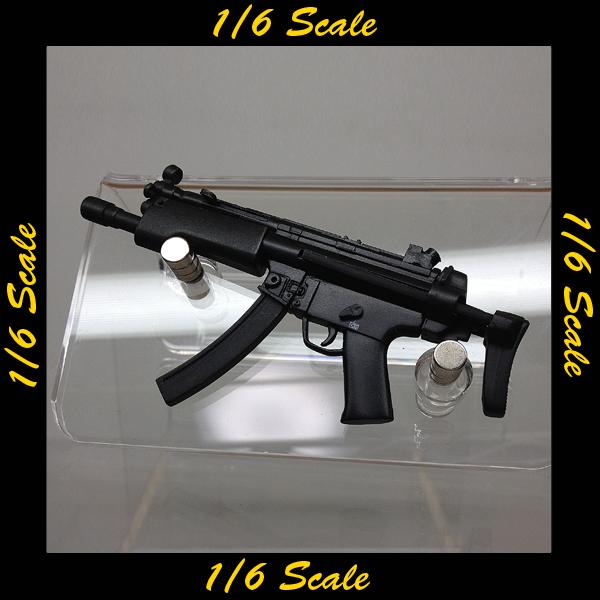 【00803】 1/6 ホットトイズ MP5A3 タクティカルライト搭載型
