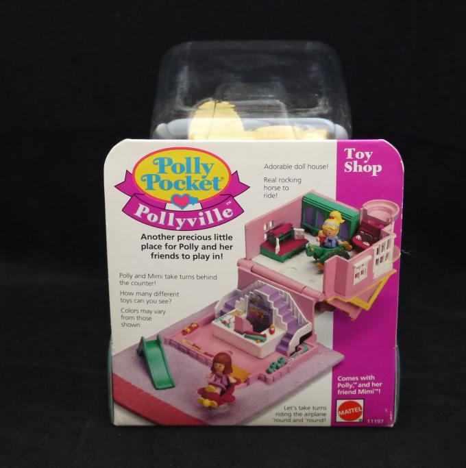 コレクターズアイテム トイショップ 1993年 新品 ポーリータウンシリーズ