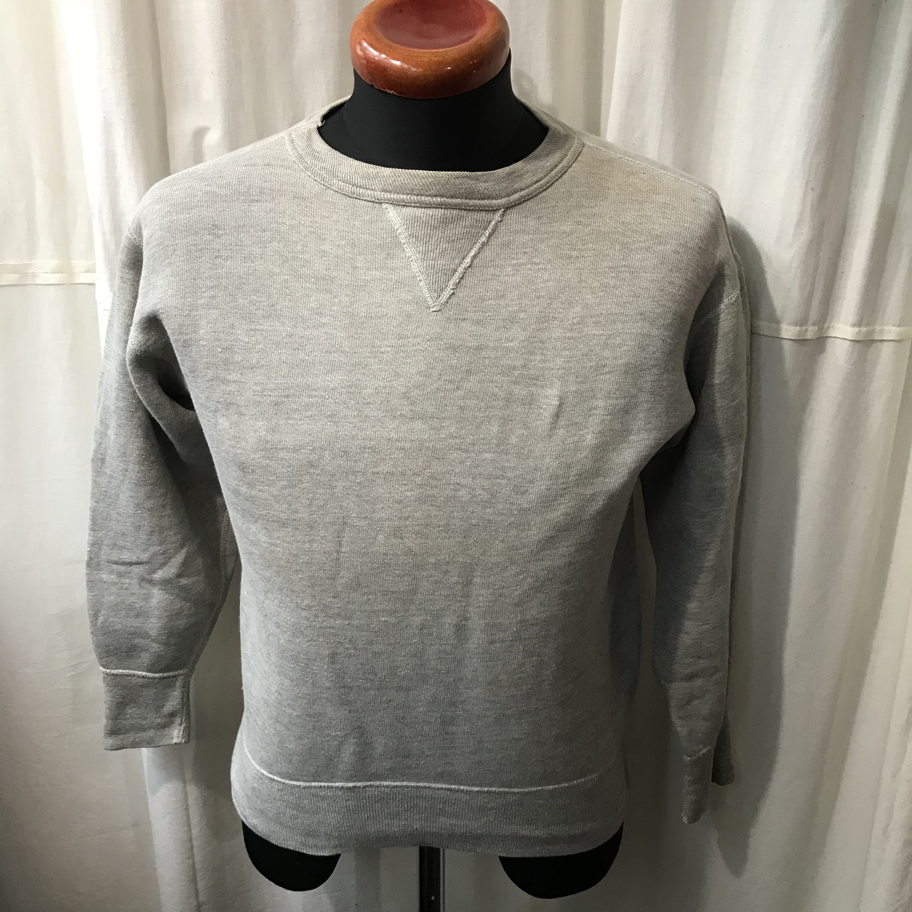 50's vintage 前Vスウェットシャツ メンズS