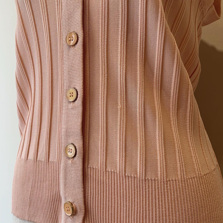 vintage nosleeve summer knit tops