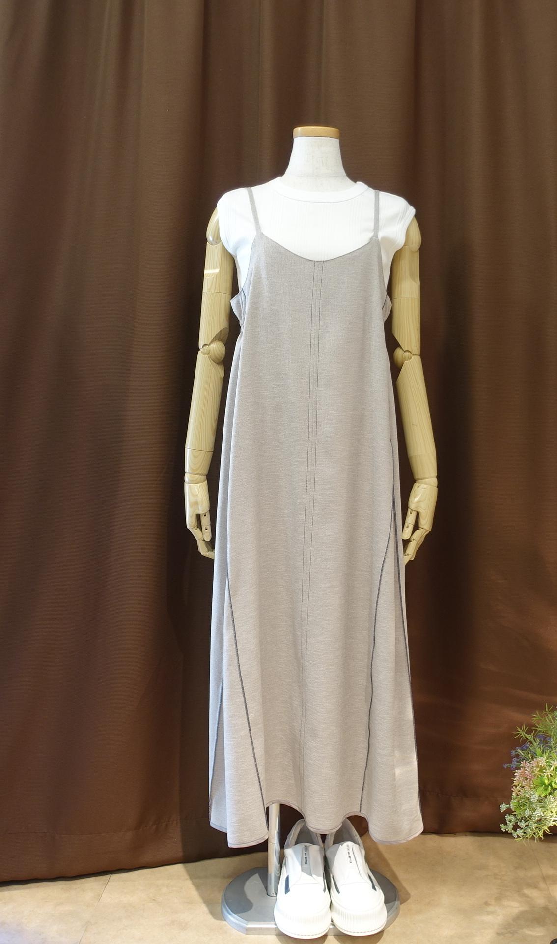 21049  カラーステッチ・キャミドレス