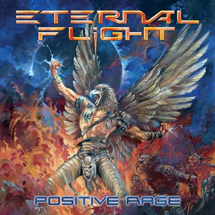 "ETERNAL FLIGHT ""Positive Rage""日本盤"
