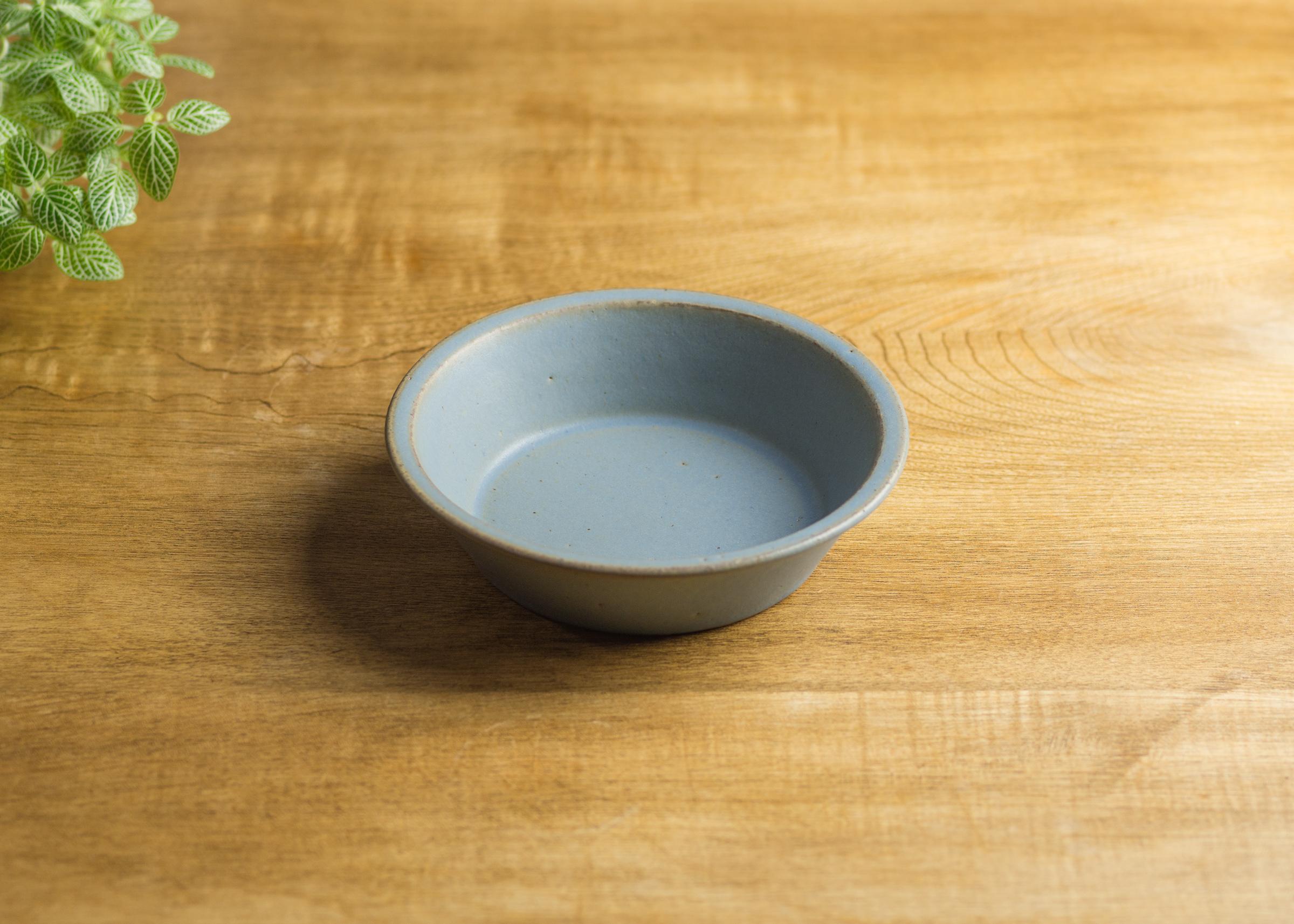 SHIROUMA 浅鉢 15cm 灰色(シリアルボウル・グラタン皿・耐熱皿)/長谷川 哲也