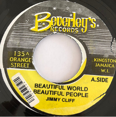 Jimmy Cliff(ジミークリフ) - Wonderful World Wonderful People【7'】