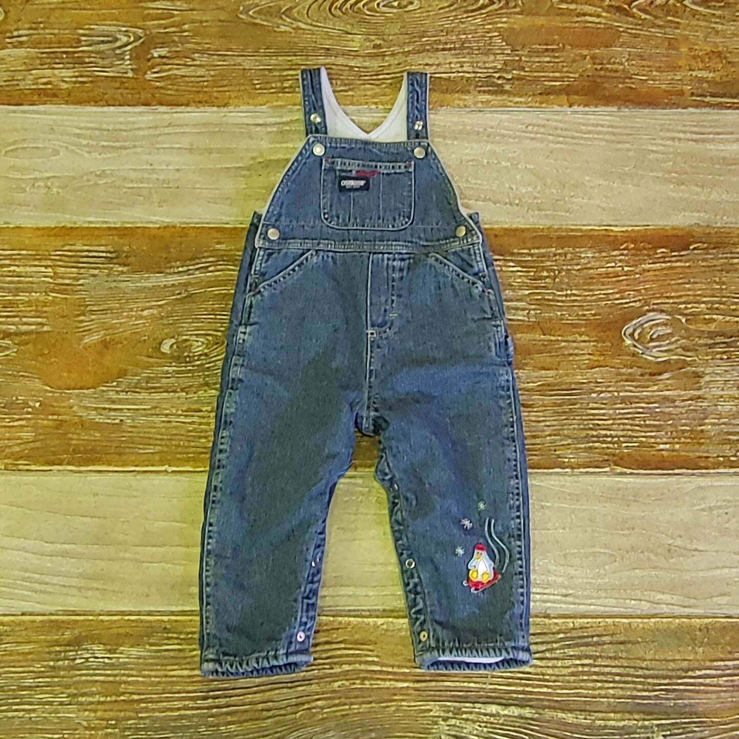 【KIDS USED】Oshkosh Overall*18M