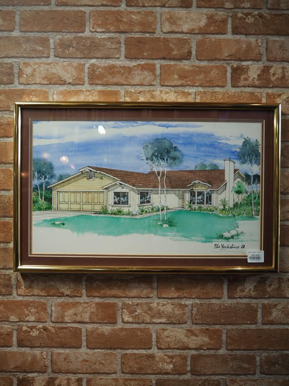 品番2427-2 家のスケッチ / House Model Sketch