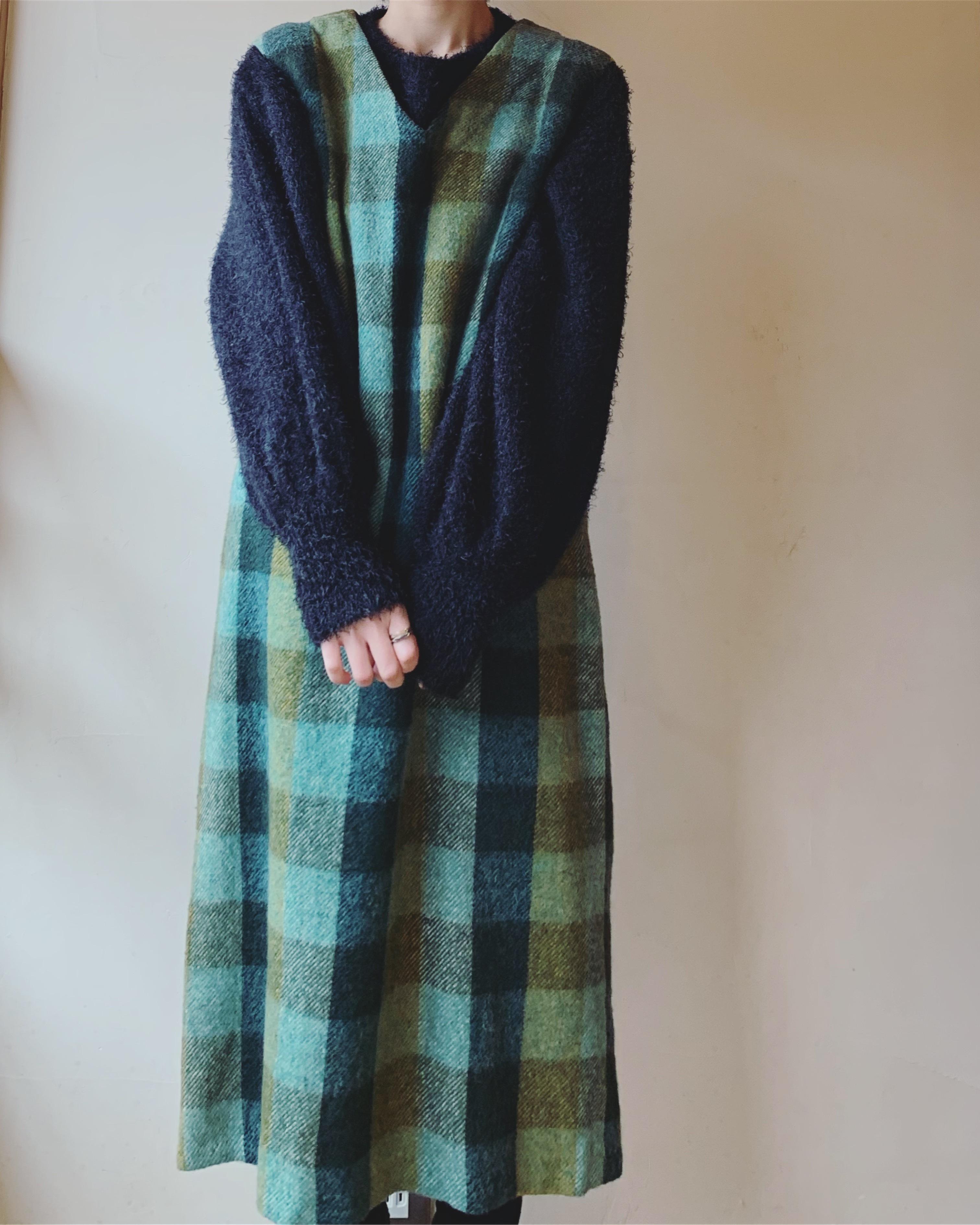 vintage wool onepiece