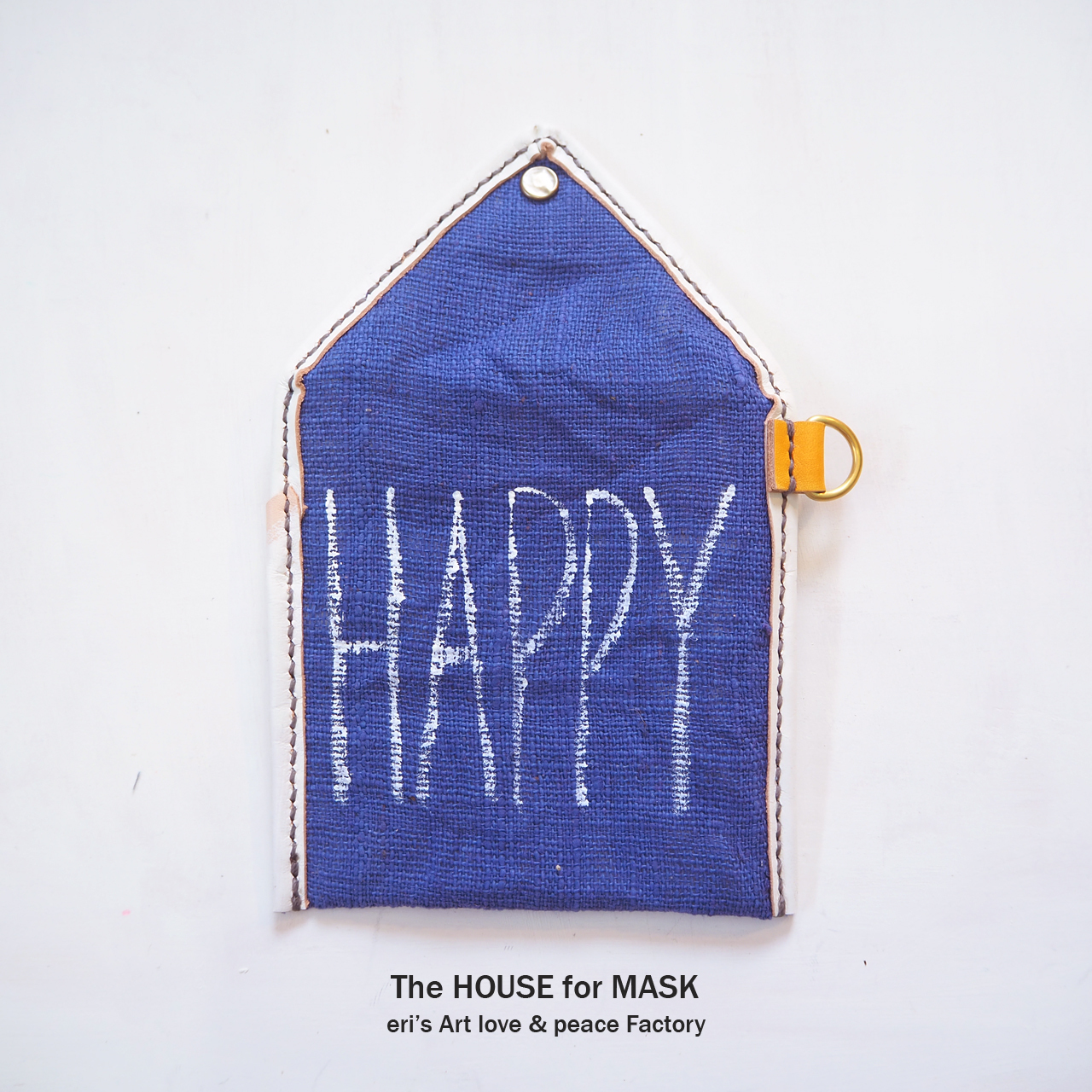 The HOUSE for MASK -マスクのおうちポーチ purple- LE-1331