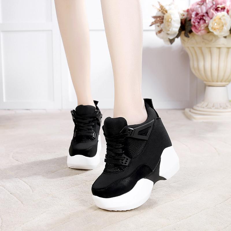 【shoes】ファッション配色切り替えスニーカー22696035