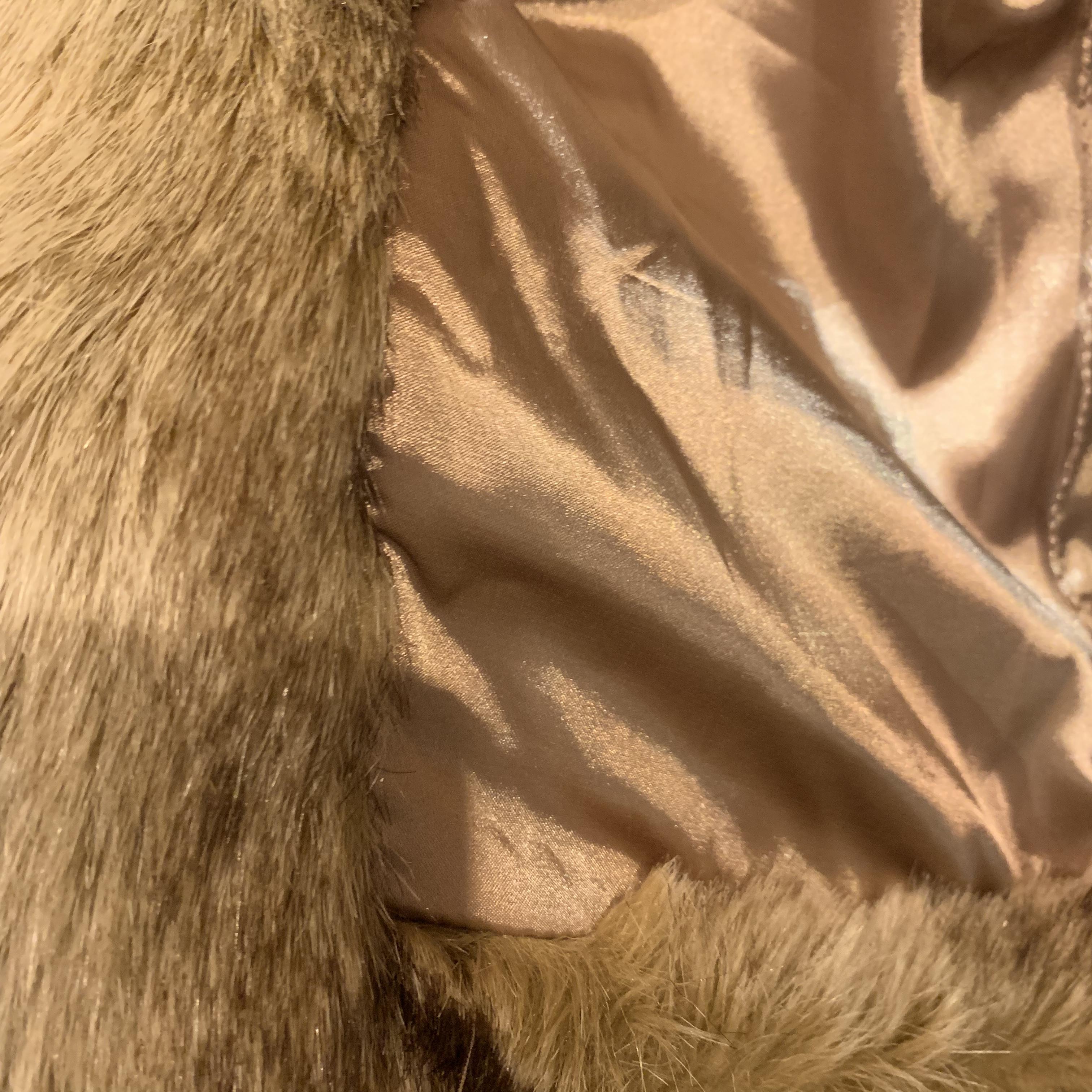 vintage fur vest
